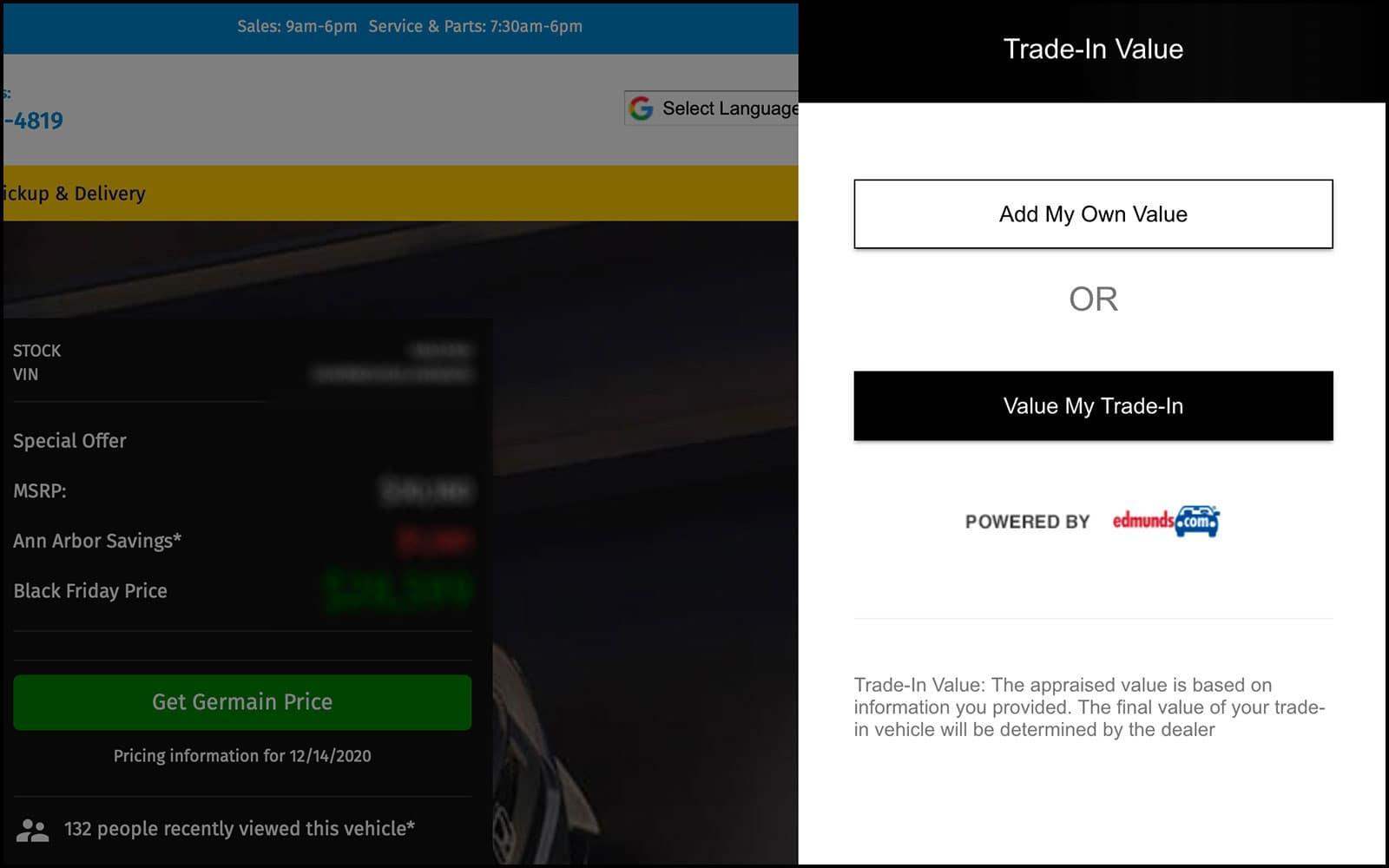 Step 2: Trade