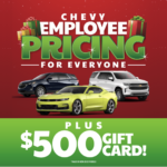 Chevy Employee Pricing For Everyone