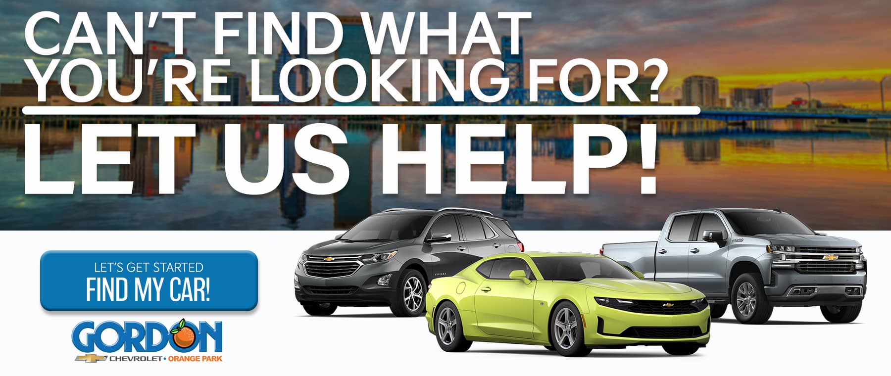 We'll Find Your Car