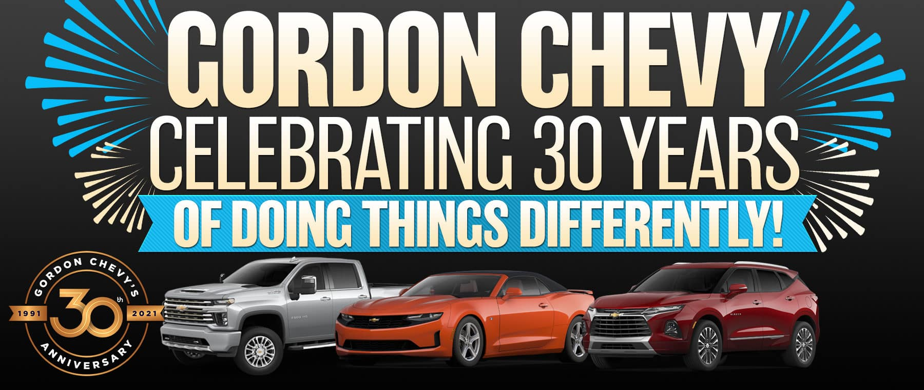 30 Years of doing things different