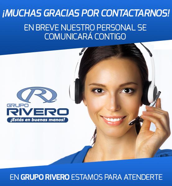 Grupo Rivero Gracias por Contactarnos