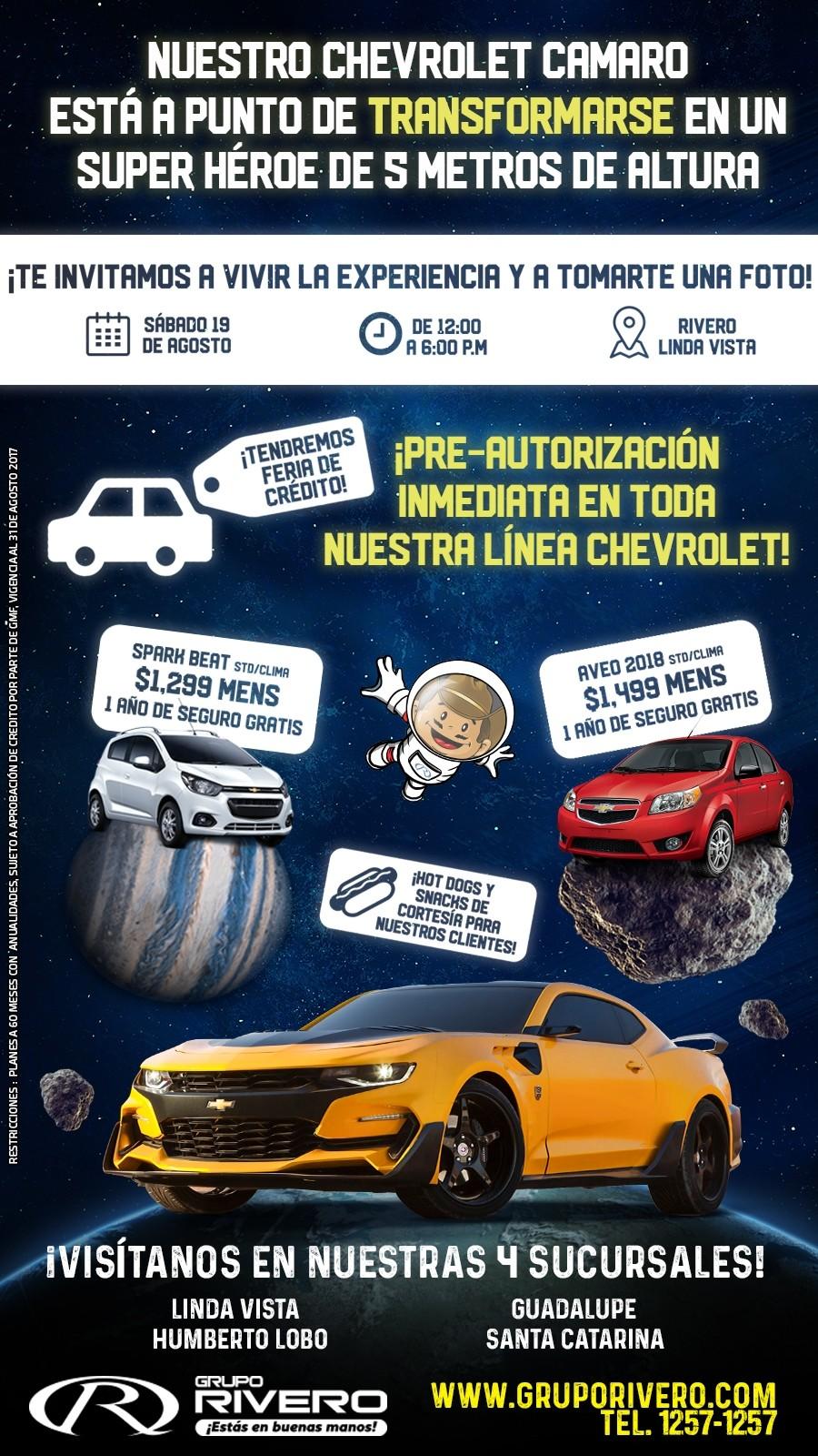 Chevrolet Grupo Rivero Mail Agosto
