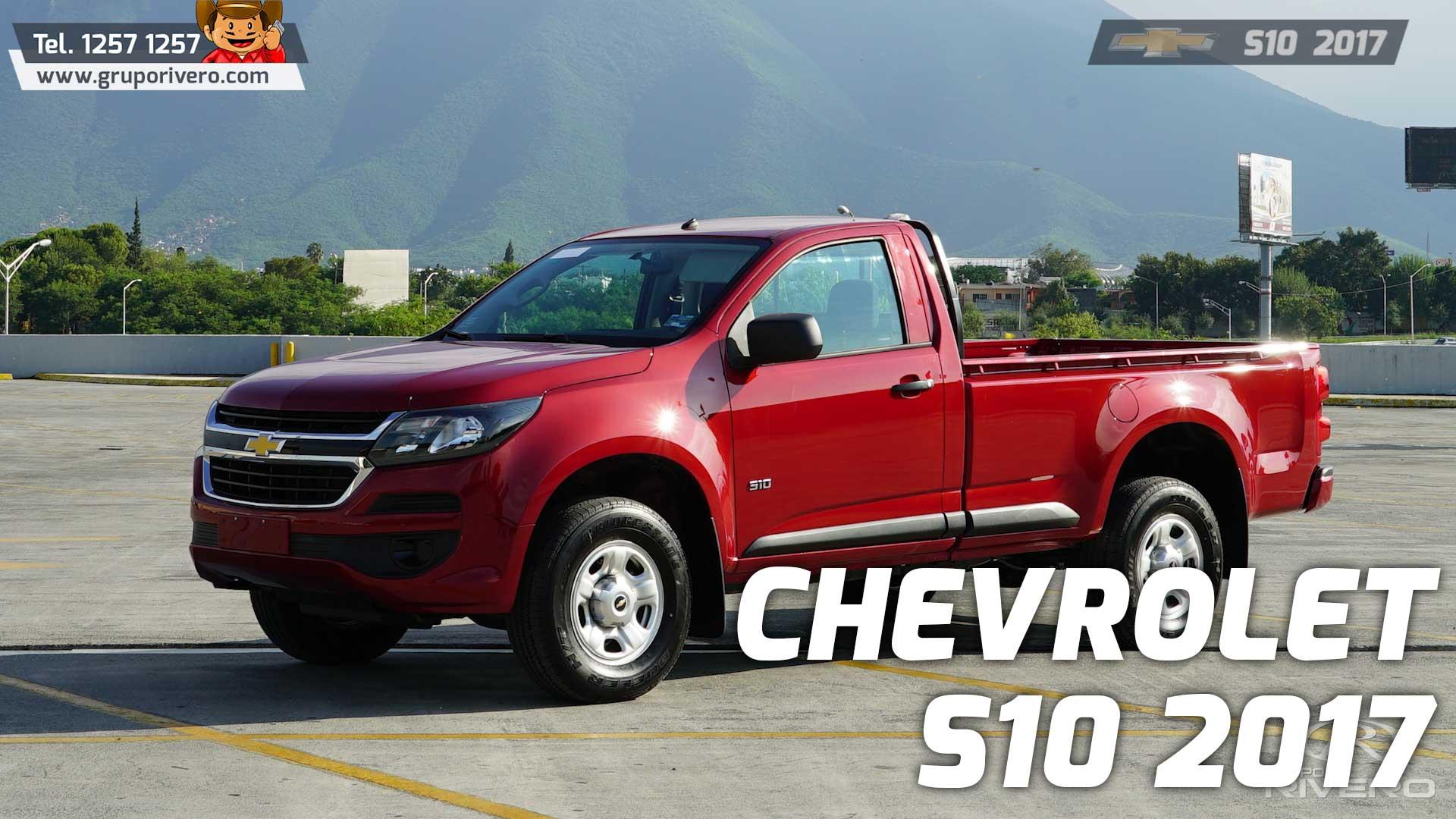 Chevrolet S10 2017 En Monterrey Tiene Todo El Poder Que