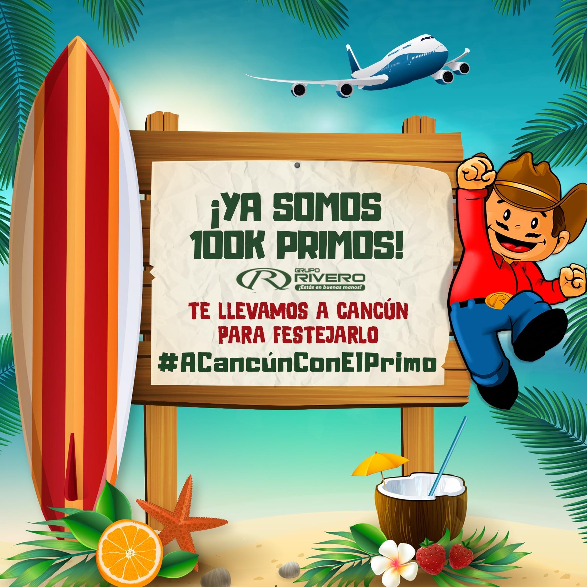 Grupo Rivero Te Lleva a Cancun