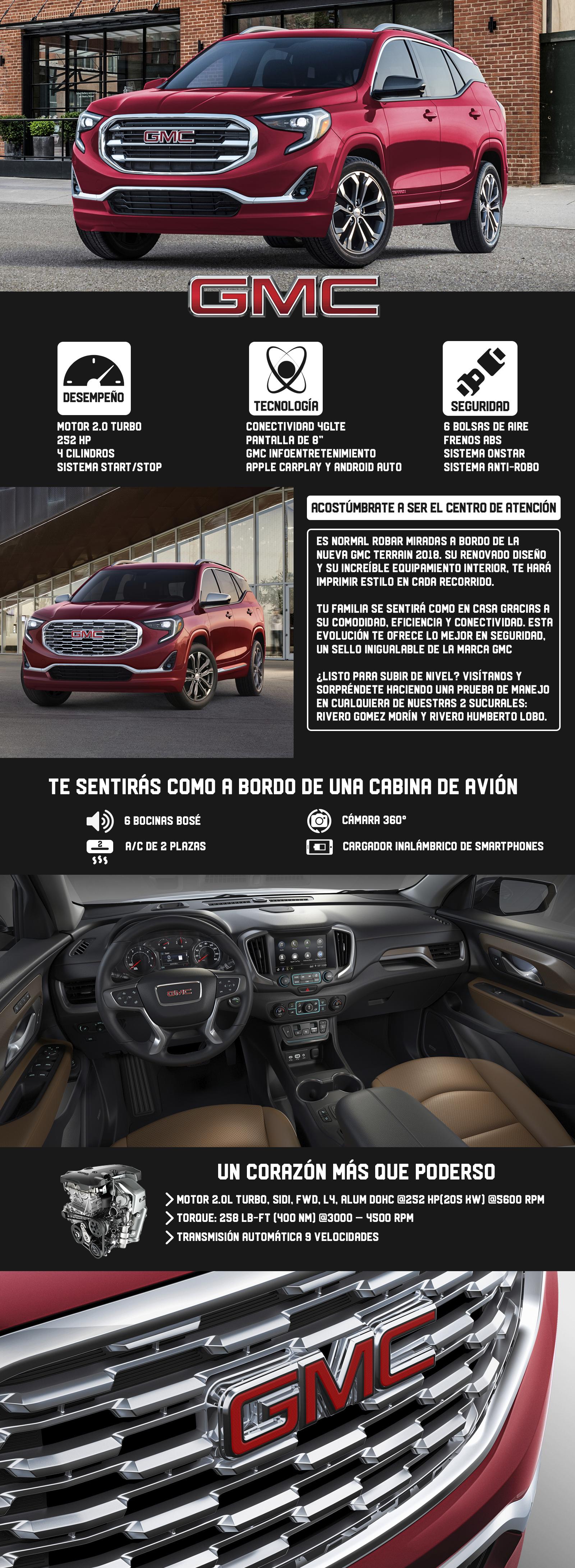 GMC Terrain 2018 en Monterrey