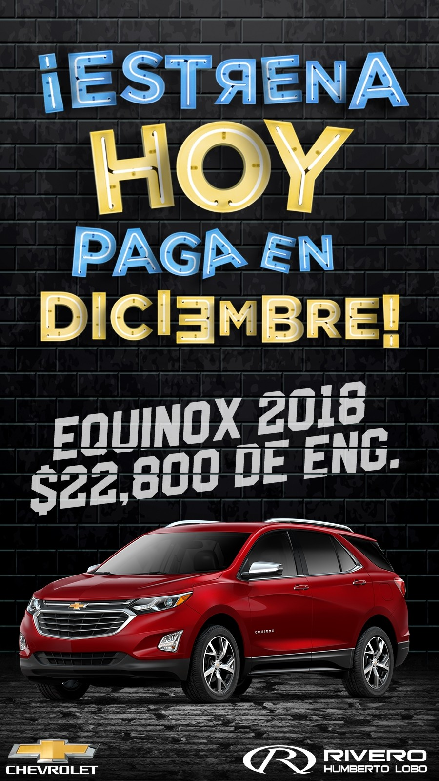 Chevrolet Grupo Rivero Equinox 2018 En Monterrey