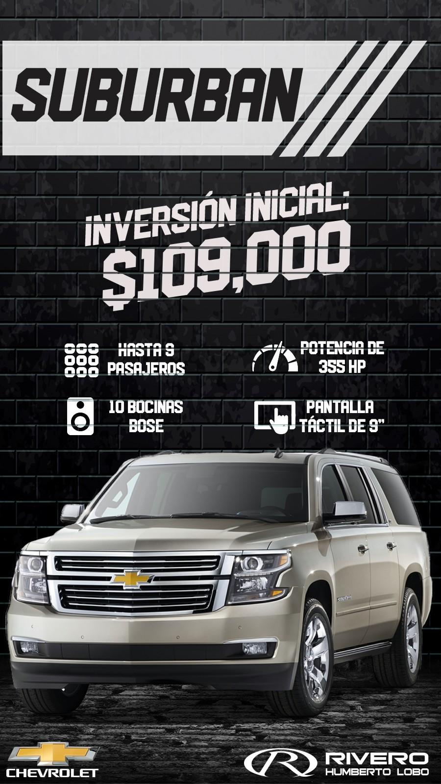Chevrolet Grupo Rivero Suburban 2017 En Monterrey