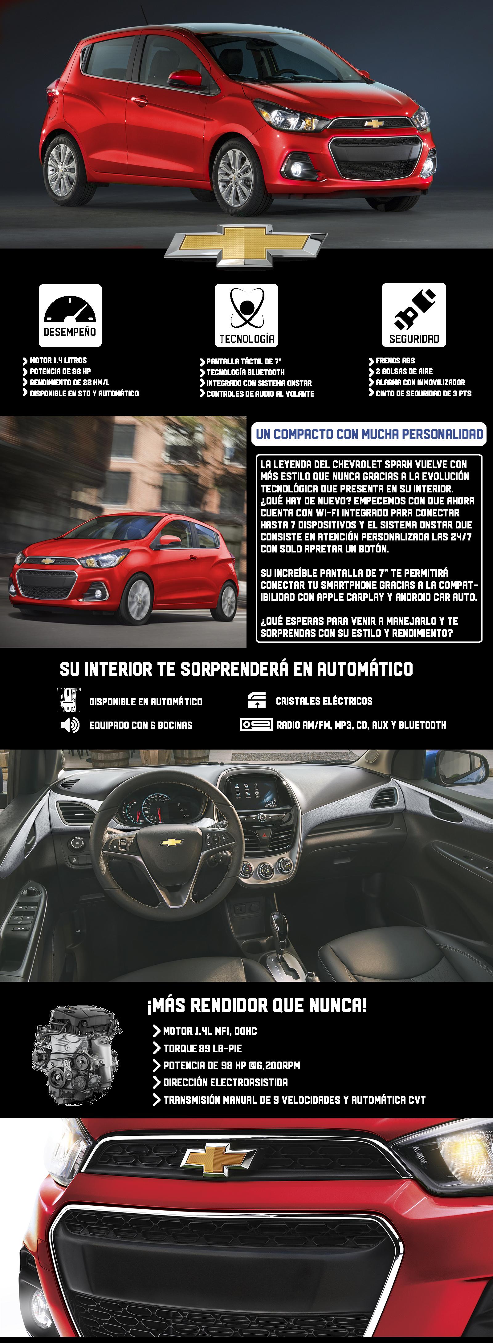 Chevrolet Spark NG 2018