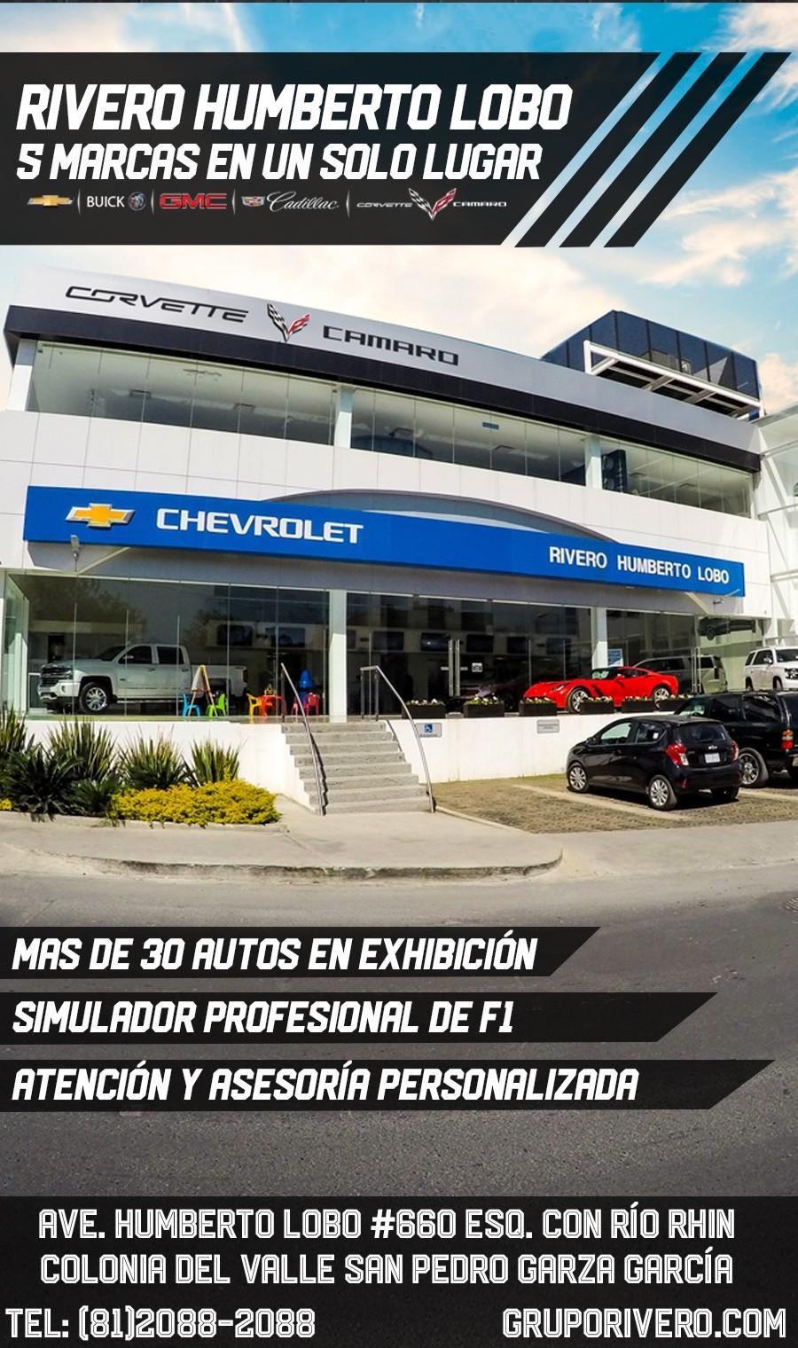 Chevrolet Rivero Humberto Lobo San Pedro