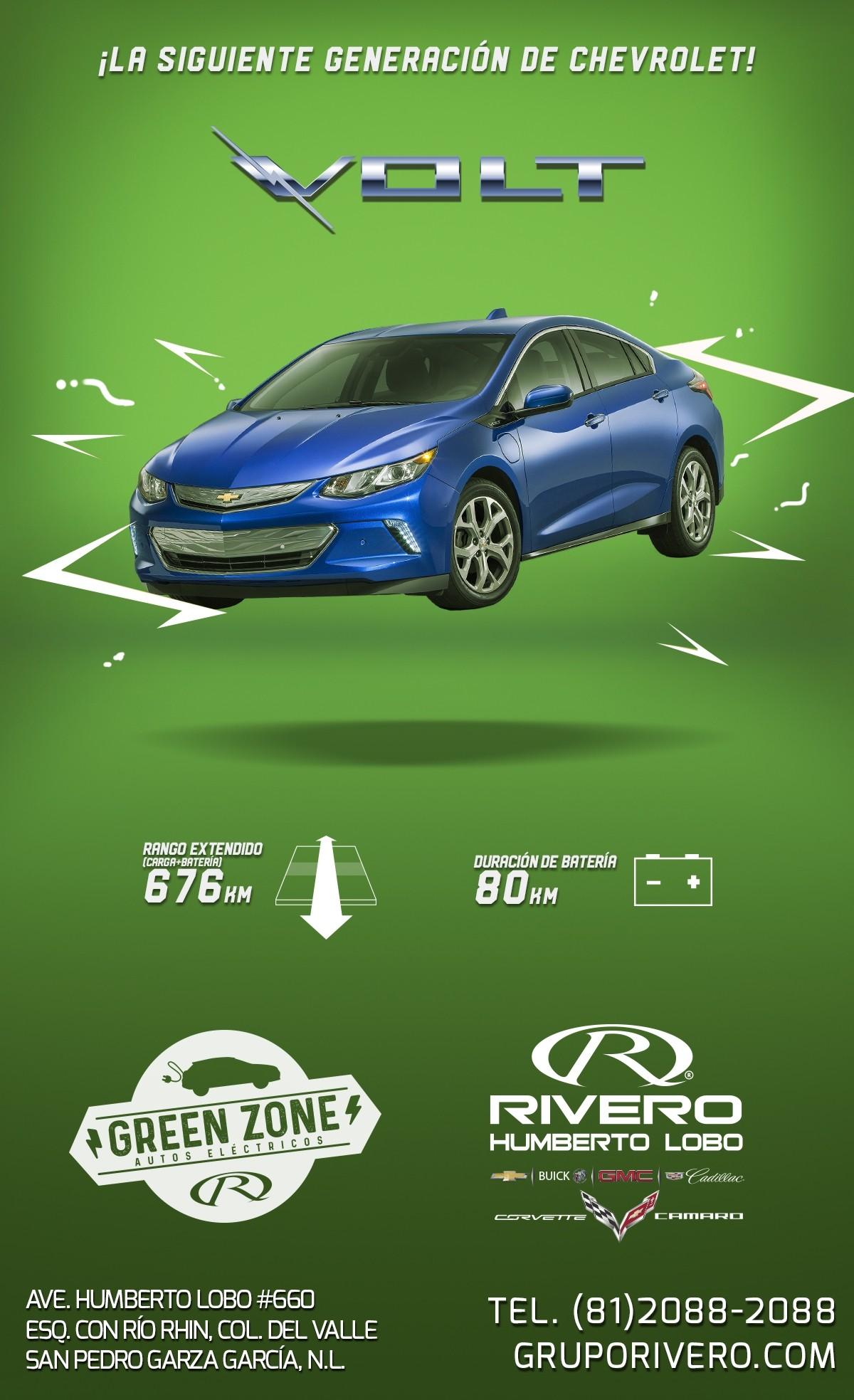 Chevrolet Volt 2017 Autos Eléctricos En Monterrey