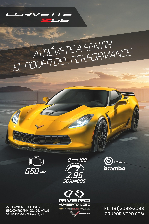 Rivero Humberto Lobo Corvette z06 En Monterrey