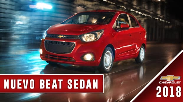 chevrolet beat sedán 2018