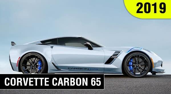 Chevrolet Deportivo Corvette Carbon 65