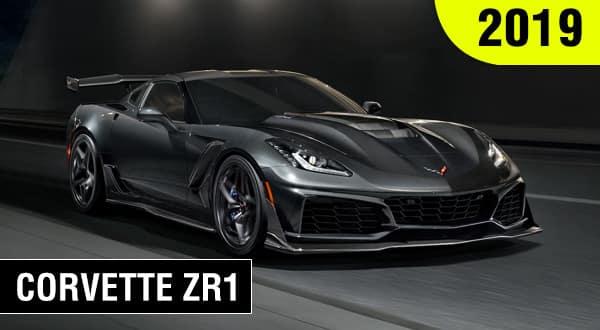Chevrolet Deportivo Corvette ZR1 2019