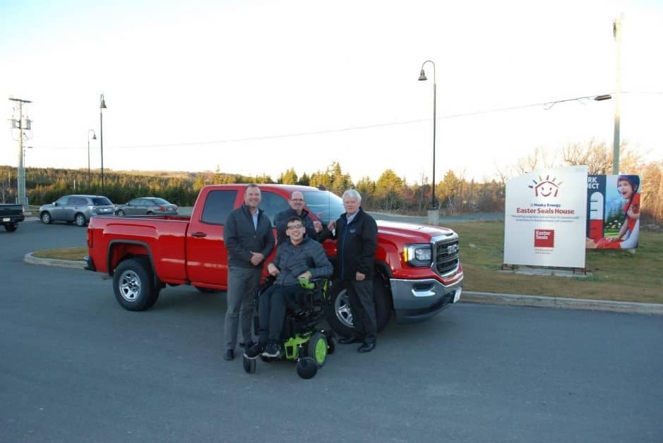 EASTER SEALS LOTTERY WINNER - As a proud sponsor of the 2017 Easter Seals Cabin Lottery Truck Draw, Hickman Automotive Group was delighted to participate in the delivery of a 2017 GMC Sierra pick-up truck to the lucky winner, Mr. Philip Bragg. The team at Chevrolet Cadillac and Chevrolet Buick GMC Carbonear worked with the lucky winner to select his vehicle and also helped facilitate the delivery, providing Mr. Bragg with VIP treatment. We would like to wish Mr. Bragg the best of luck and we?re sure he will enjoy his new ride!