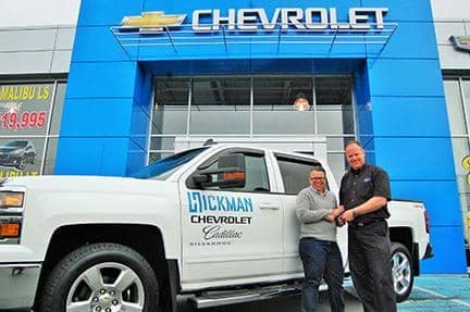 GEMMA HICKEY'S HOPE WALK IN SUPPORT OF THE PATHWAYS FOUNDATION - We are proud to announce that Hickman Chevrolet Cadillac is providing the truck that will tow the trailer for Gemma Hickey's Hope Walk across the province. The Hope Walk is in support of Pathways, a foundation that Gemma founded in 2013. Pathways helps to address the gaps in services for men and women who have experienced abuse within religious institutions.      Gemma will walk across the island, beginning in Port aux Basques and ending at the Mount Cashel Memorial in St. John's. The Hope Walk Project will run from July 2nd to August 2nd, 2015. To learn more about the Hope Walk or the Pathways Foundation, go to http://www.pathways-foundation.com/