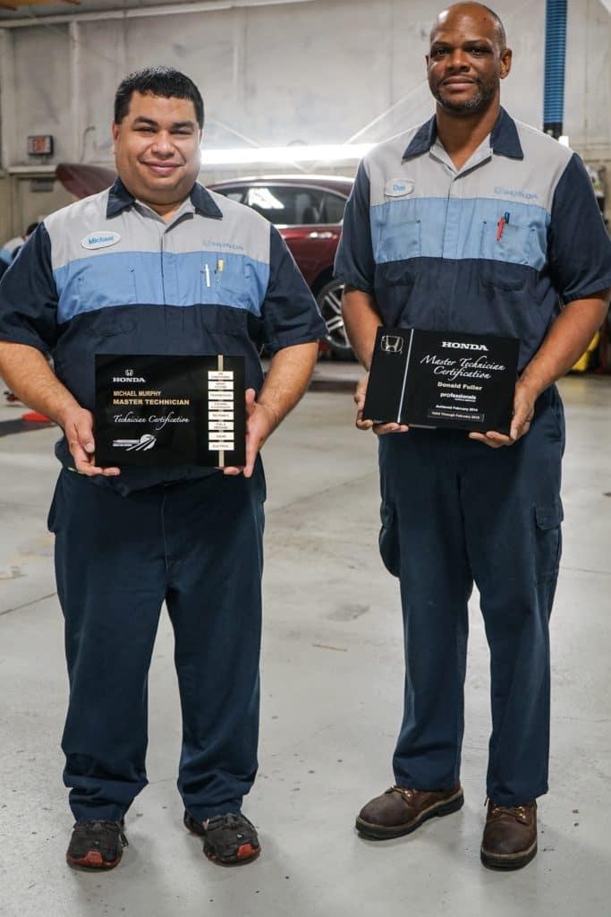 Honda Master TechNicians, Holmes Honda Bossier City, Honda Service