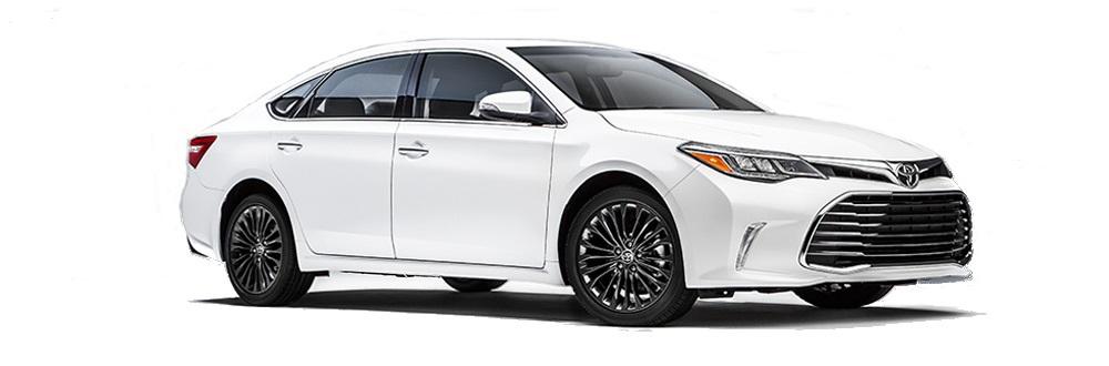 2016 Toyota Avalon On White