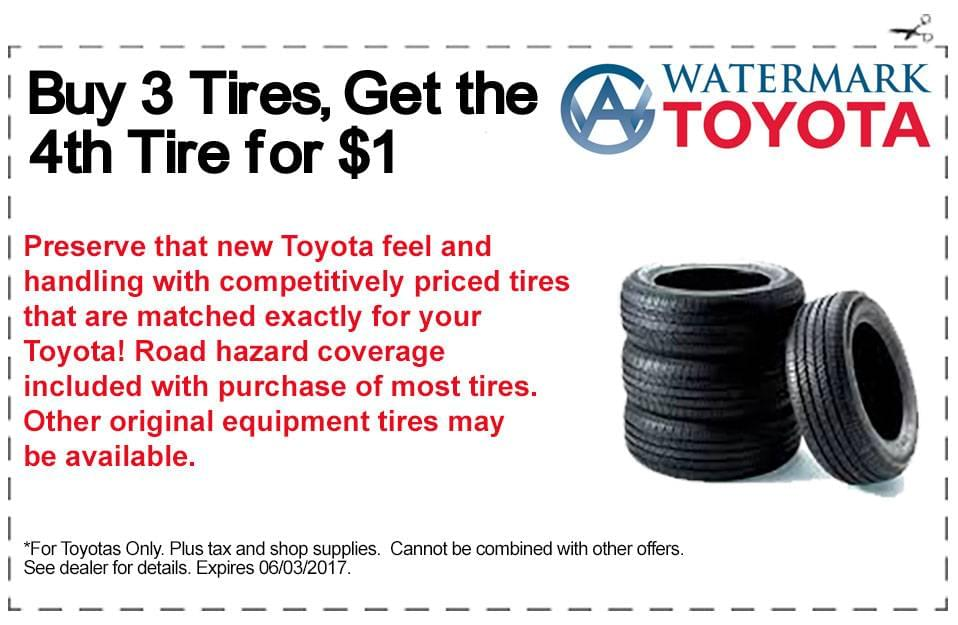 Parts Specials Watermark Toyota