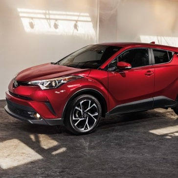 2018 Toyota C-HR in Ruby Flare Metallic