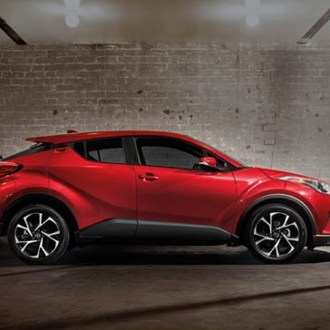 2018 Toyota C-HR side exterior