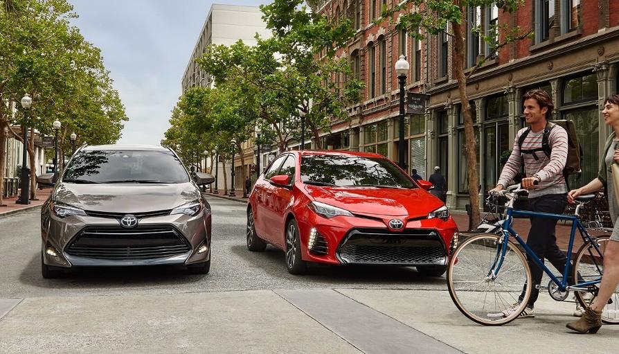2018 Toyota Corollas