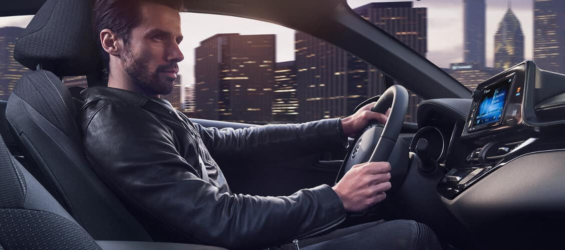 Driver in 2018 Toyota C-HR