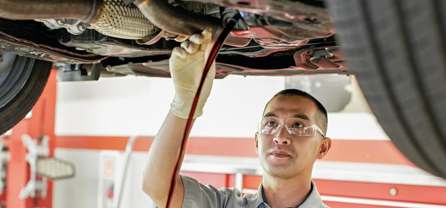 Toyota Service Oil Change banner