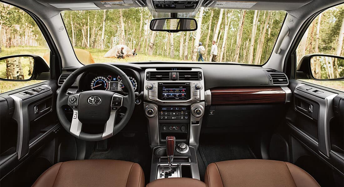2018 Toyota 4Runner inside