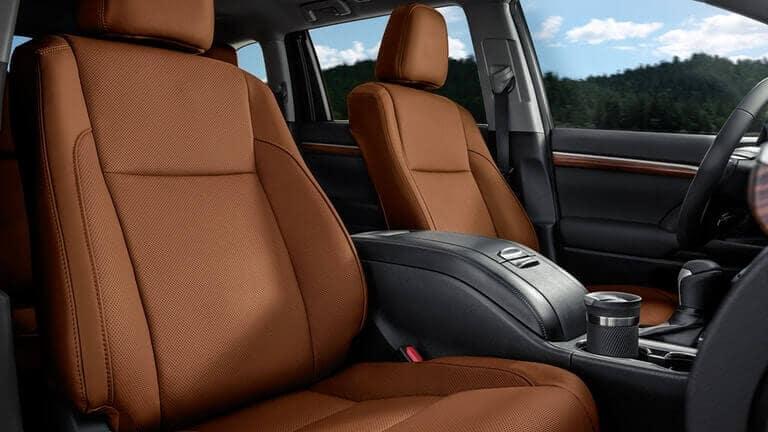 2018 Toyota Highlander seating