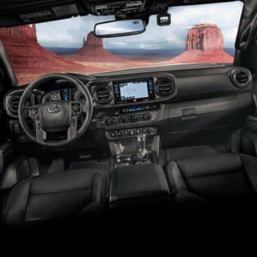2018 Toyota Tacoma Interior View