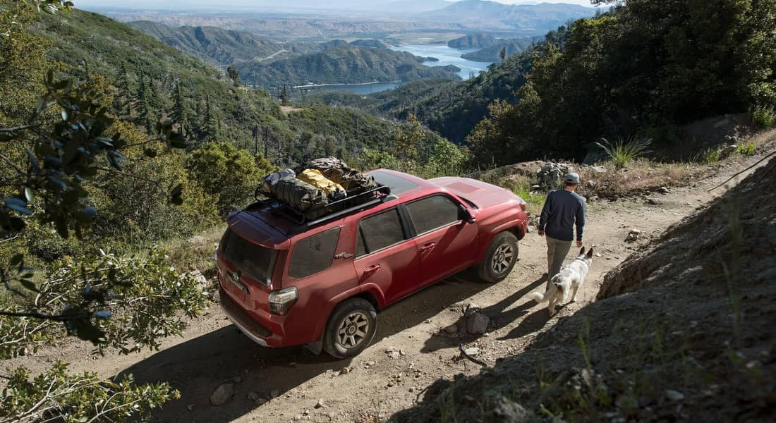 2018 Toyota 4Runner TRD Off-Road Premium in Barcelona Red