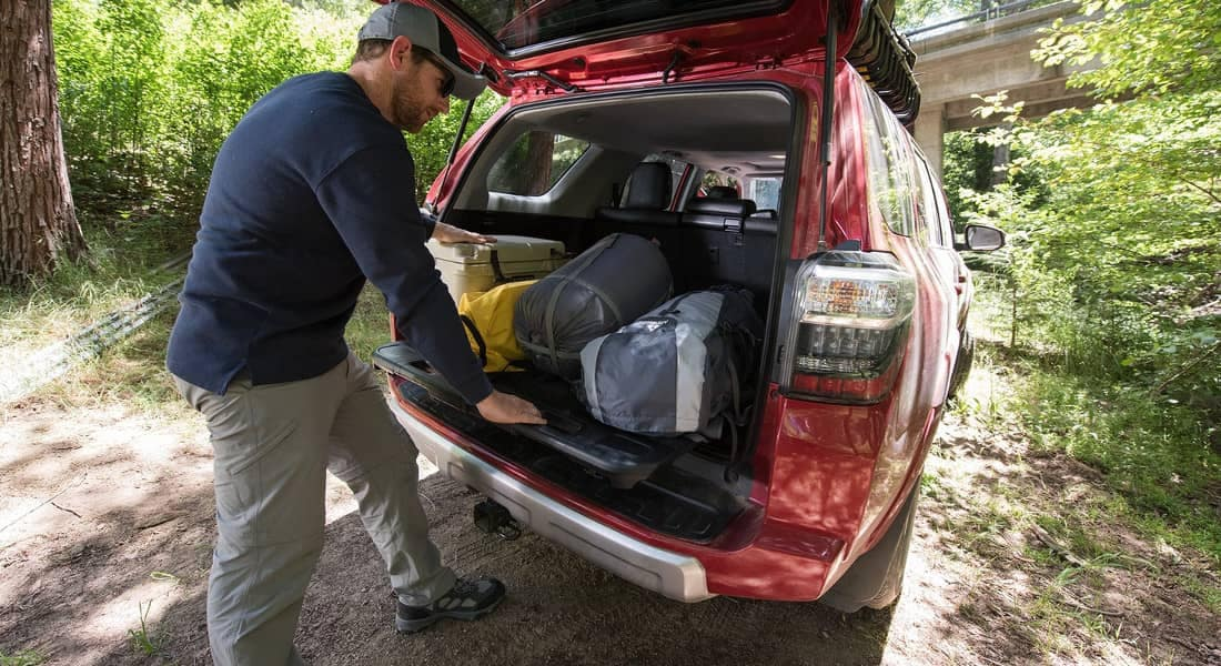 2018 Toyota 4Runner TRD Off-Road Premium rear cargo