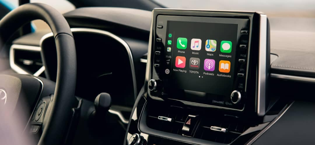 2019 Toyota Corolla Hatchback with Apple Carplay
