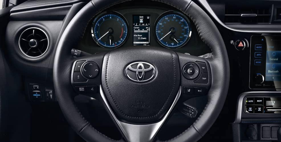 2018 Toyota Corolla steering wheel