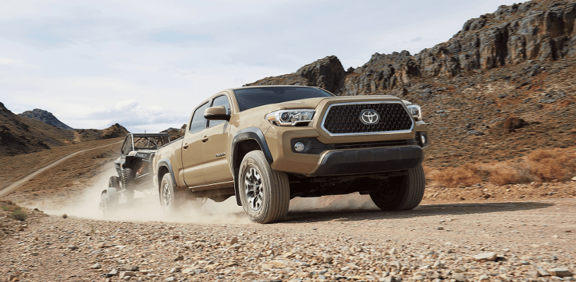 2018 Toyota Tacoma front grill with chrome