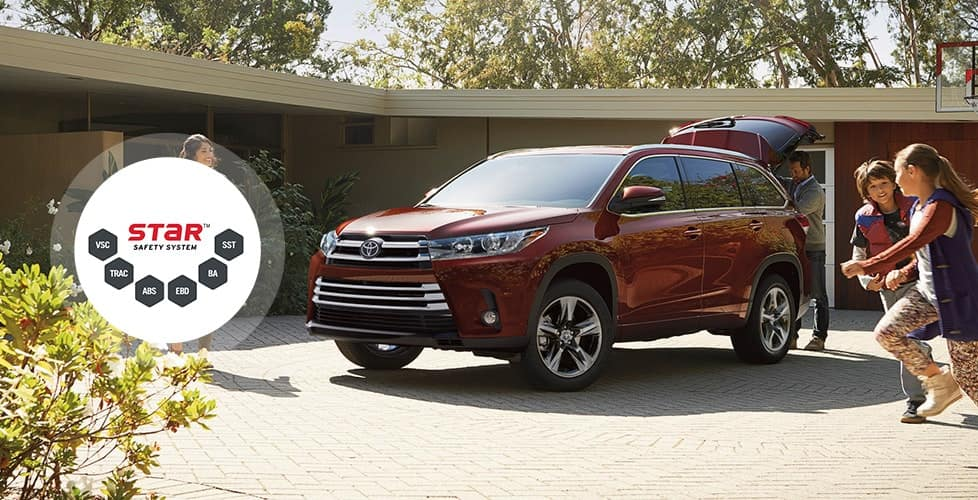 2018 Toyota Highlander Star Safety System