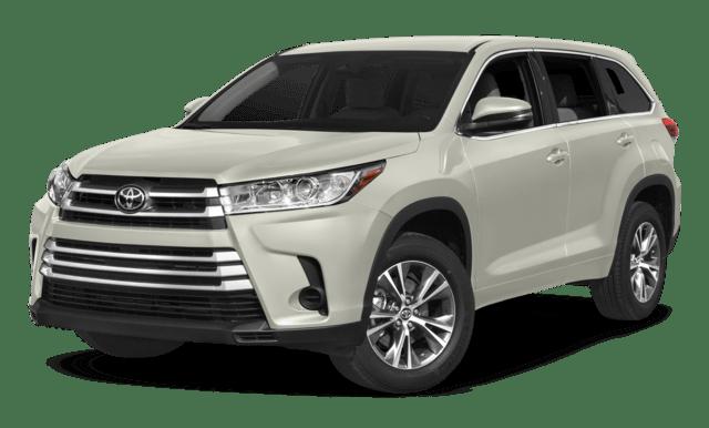 2018 Toyota Highlander LE compare
