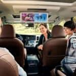 interior of 2018 Toyota Sienna