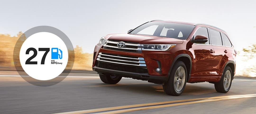Up To 27 Mpg Hwy 2018 Toyota Highlander