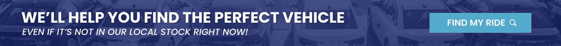 vehicle finder service banner