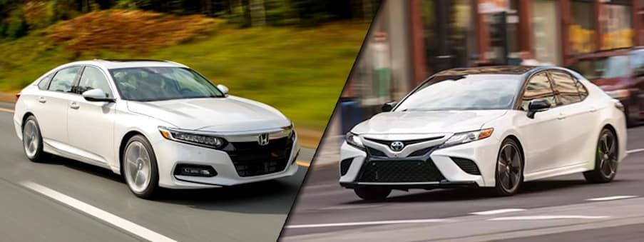 2018 Honda Accord vs 2018 Toyota Camry