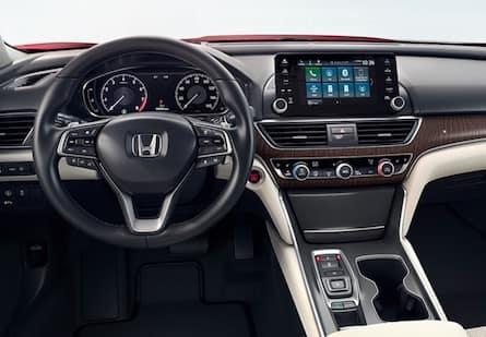 2018 Honda Accord cabin