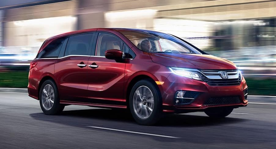 2018 Honda Odyssey available in Lawrence