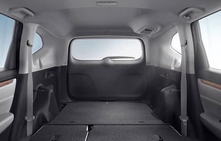 Cargo space in the 2018 Honda CR-V