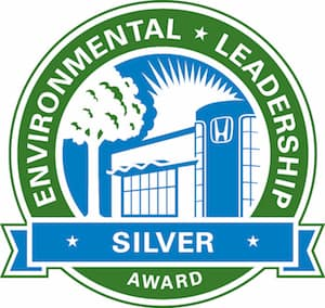 Honda Environmental Leadership Silver Award