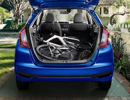 2019 Honda Fit cargo space