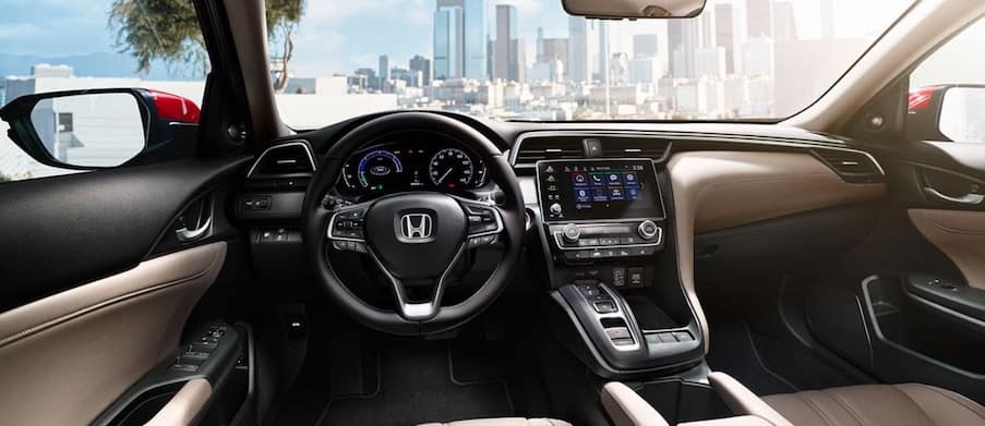 Cabin of the 2019 Honda Insight