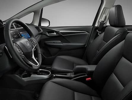 Interior of the 2019 Honda Fit