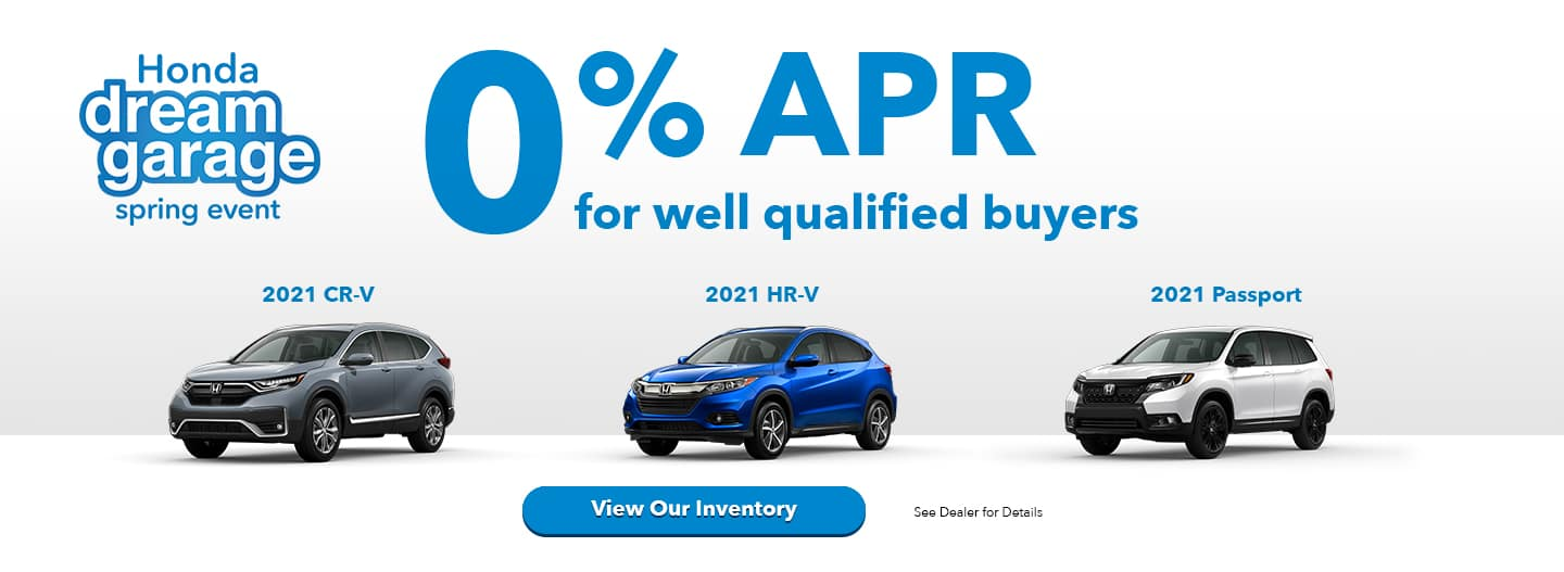 0% apr for well qualified buyers. 21 CR-V 21 HR-V 21 PASSPORT